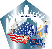 2007 Army 10 Miler Tee shirt competition